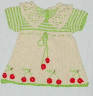 Unique baby dress