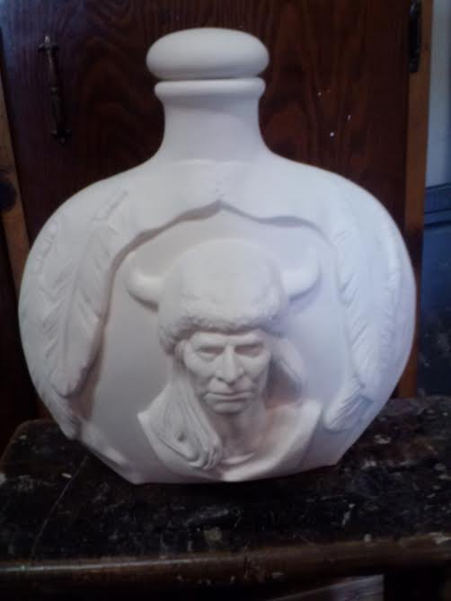 Indian Jug With Lid