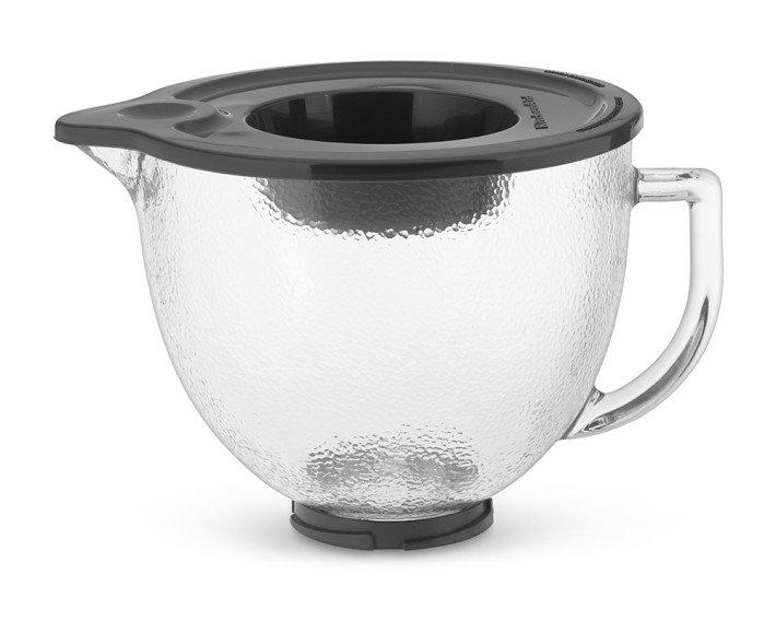KitchenAid 5-Qt. Hammered Glass Bowl with Lid