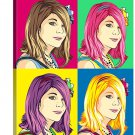 Pop Art Canvas Print from  20x24 inch, 1 person included