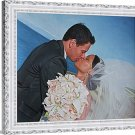 "Oil paintings from pictures, 2 people, 12""x16"", unframed - Painting from photo"