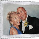 "Oil paintings from photos, 2 people, 24""x36"", unframed - Oil portrait painting"