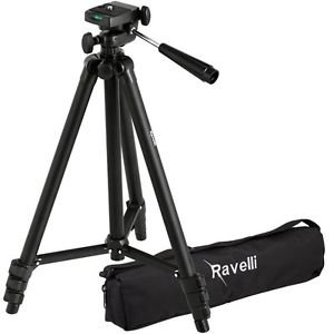 "Ravelli APLT2 50"" Light Weight Aluminum Alloy Tripod with Bag"