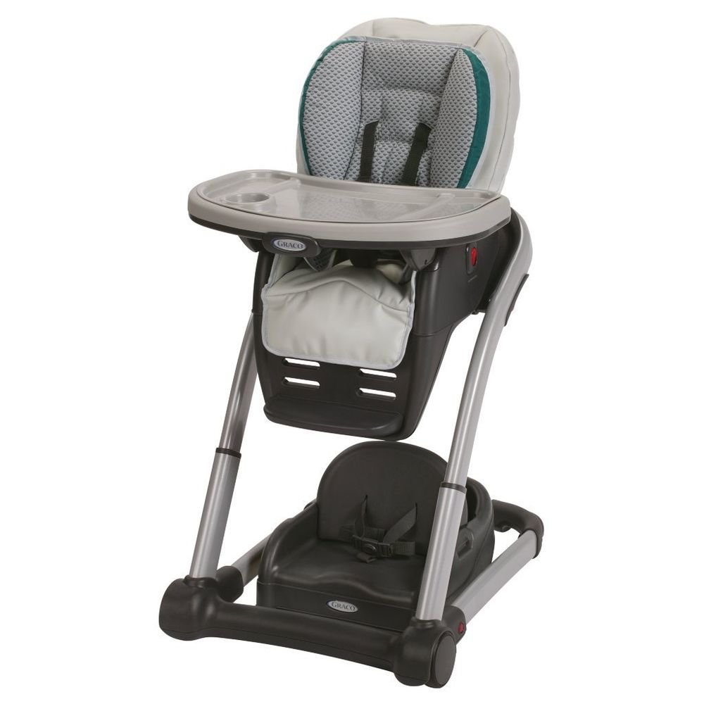 Graco Baby Blossom 4-in-1 Seating System Kids High Chair Sapphire High Chair NEW