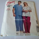UNCUT McCall's Sewing Pattern #2834 - Top & Pants Size XL or XXL