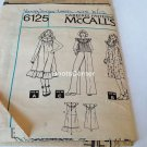 UNCUT McCall's Sewing Pattern #6125 - Dress or Top - Young Junior Size 11/12