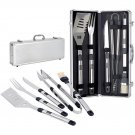 BBQ Tools Set in Black with Silver and Black - Fiero