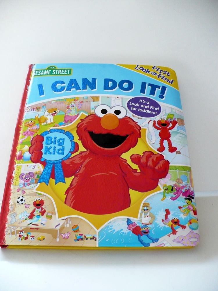 Sesame Street -  I Can Do It! (Board Book)