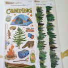 Camping Stickers great for Scrapbooking