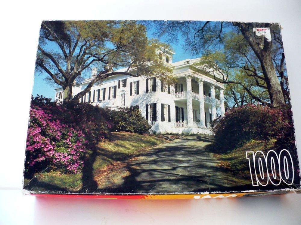 1000 Piece Rose Art Jigsaw Puzzle - Stanton Hall - Gift Idea