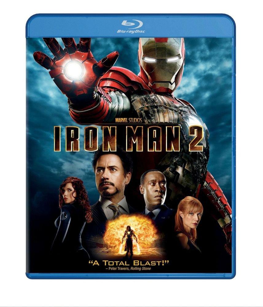 Iron Man 2 (Single-Disc Edition) [Blu-ray] DVD, Robert Downey Jr., Mickey Rourke