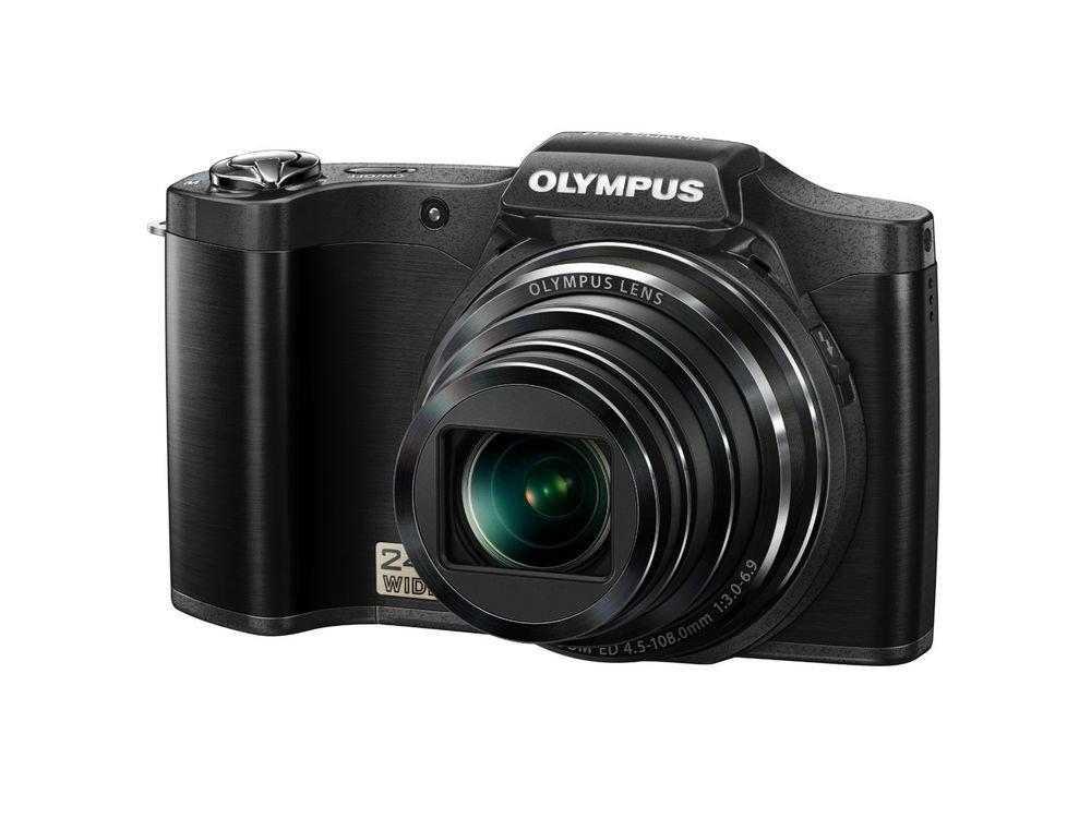 Olympus SZ-12 14 MP Digital Camera with 24x Wide-Angle Zoom (Black)