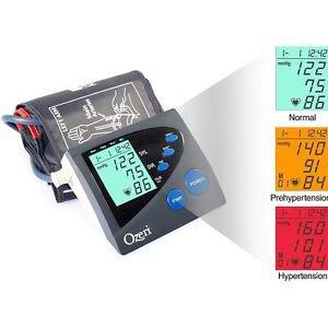 Ozeri CardioTech Premium Series BP4M Digital Arm Blood Pressure Monitor