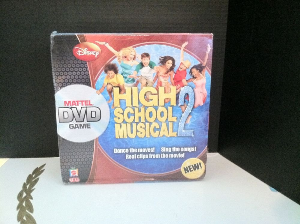 High School Musical 2 DVD Mattel Board Game Ages 6+ Boys/Girls