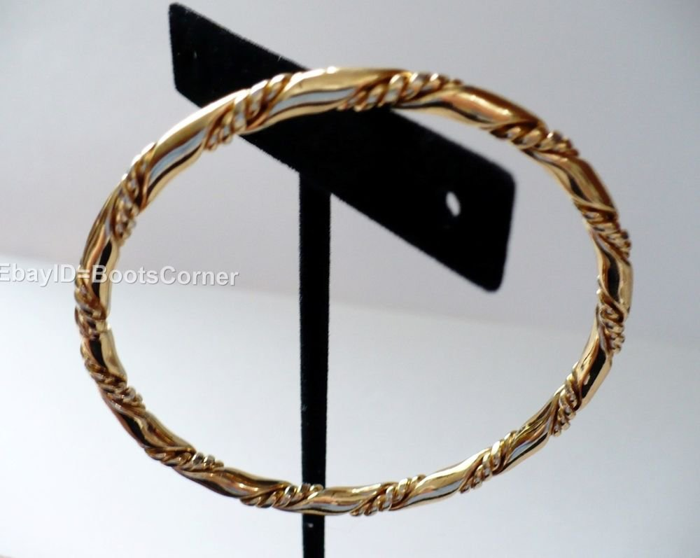 Gold Rope Bracelet Bangle