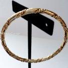 Gold Rope Bracelet Bangle