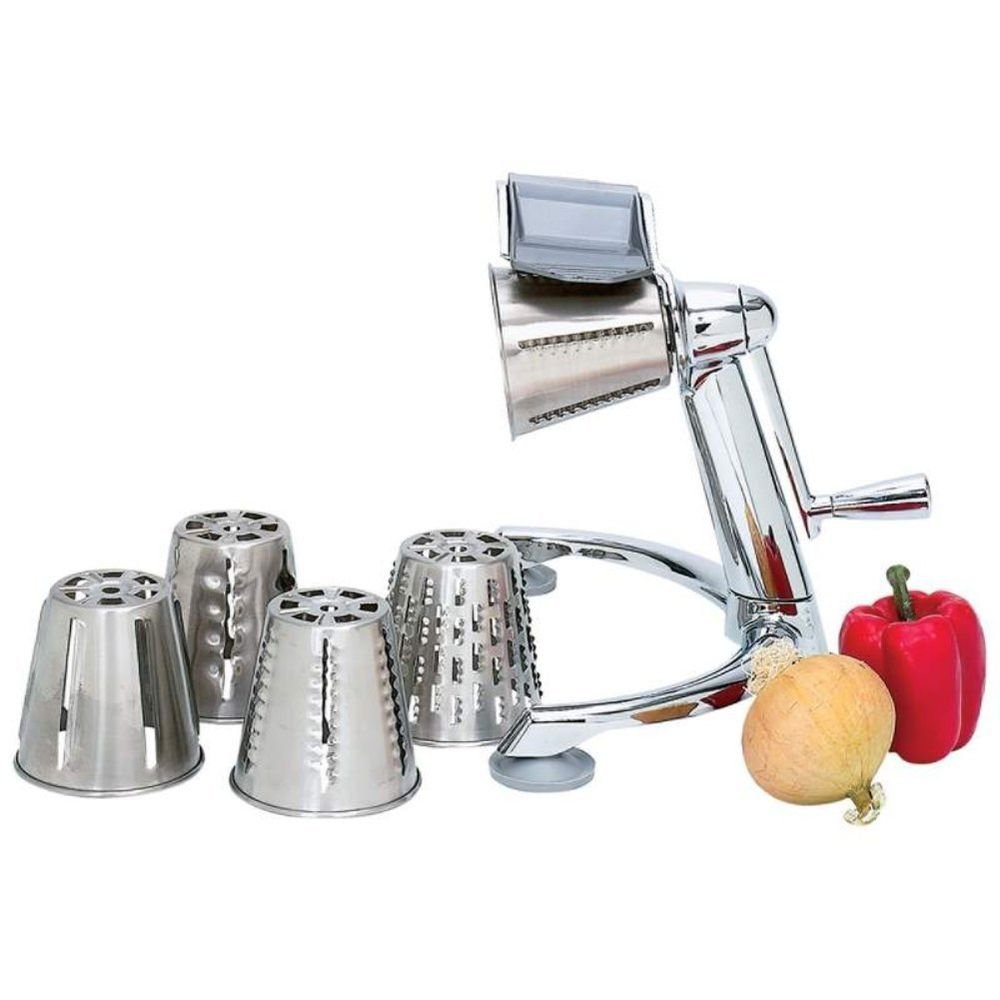 Maxam Vegetable Chopper Stainless Steel Cones french fry cutter