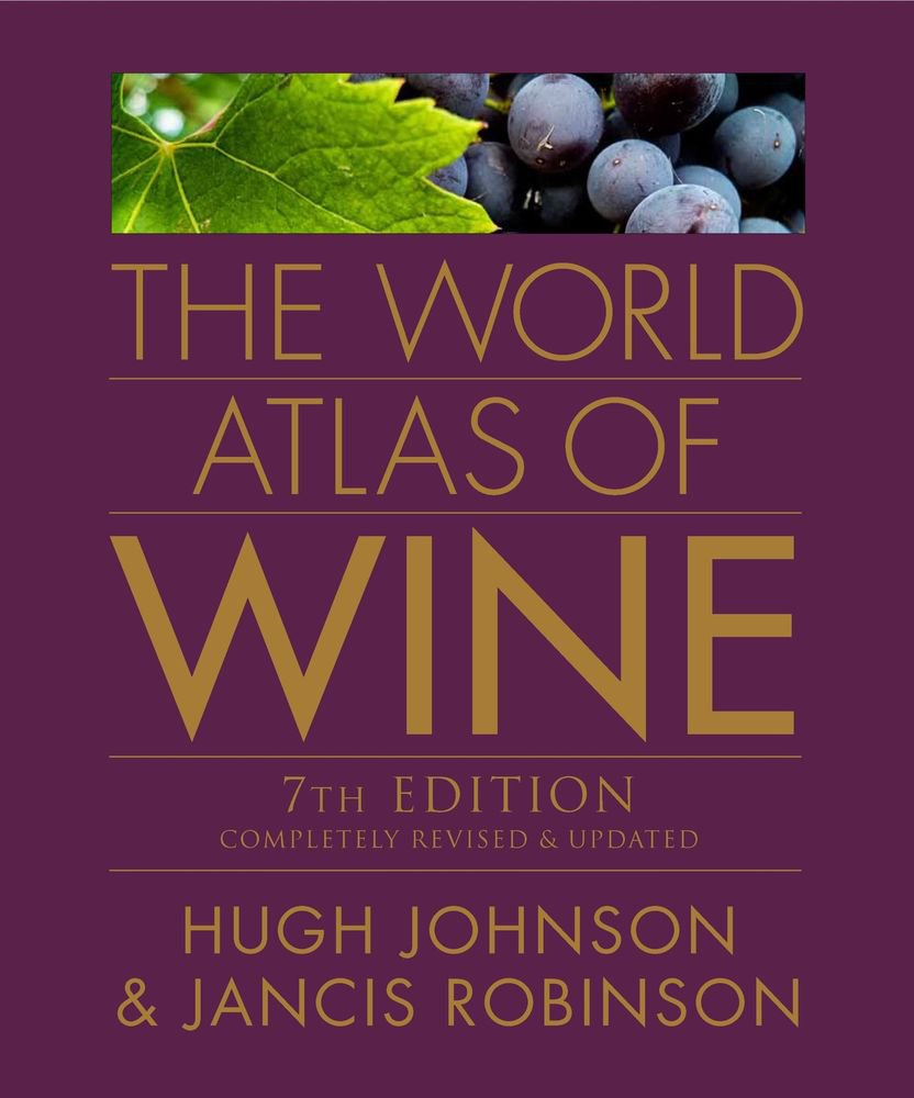NEW The World Atlas of Wine - Johnson, Hugh/ Robinson, Jancis 7th Edition