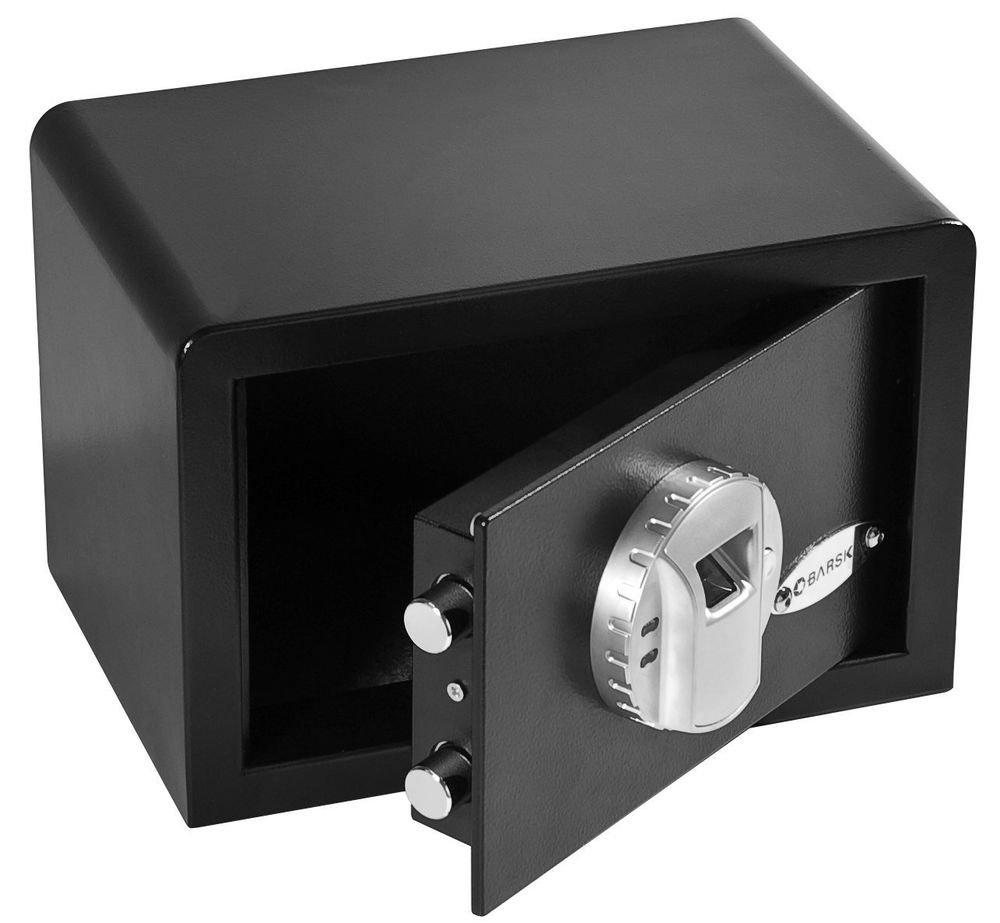 Barska Compact-Mini Biometric Lock Fingerprint Recognition Stand-Alone Safe