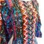 Laundry by Shelli Segal Dress Size 4 Shift Mini Colorful Boho Aztec Print NWT