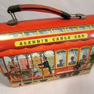 1952 Aladdin Industries Metal Lunch Box Aladdin Cable Car 113 Fisherman's Wharf