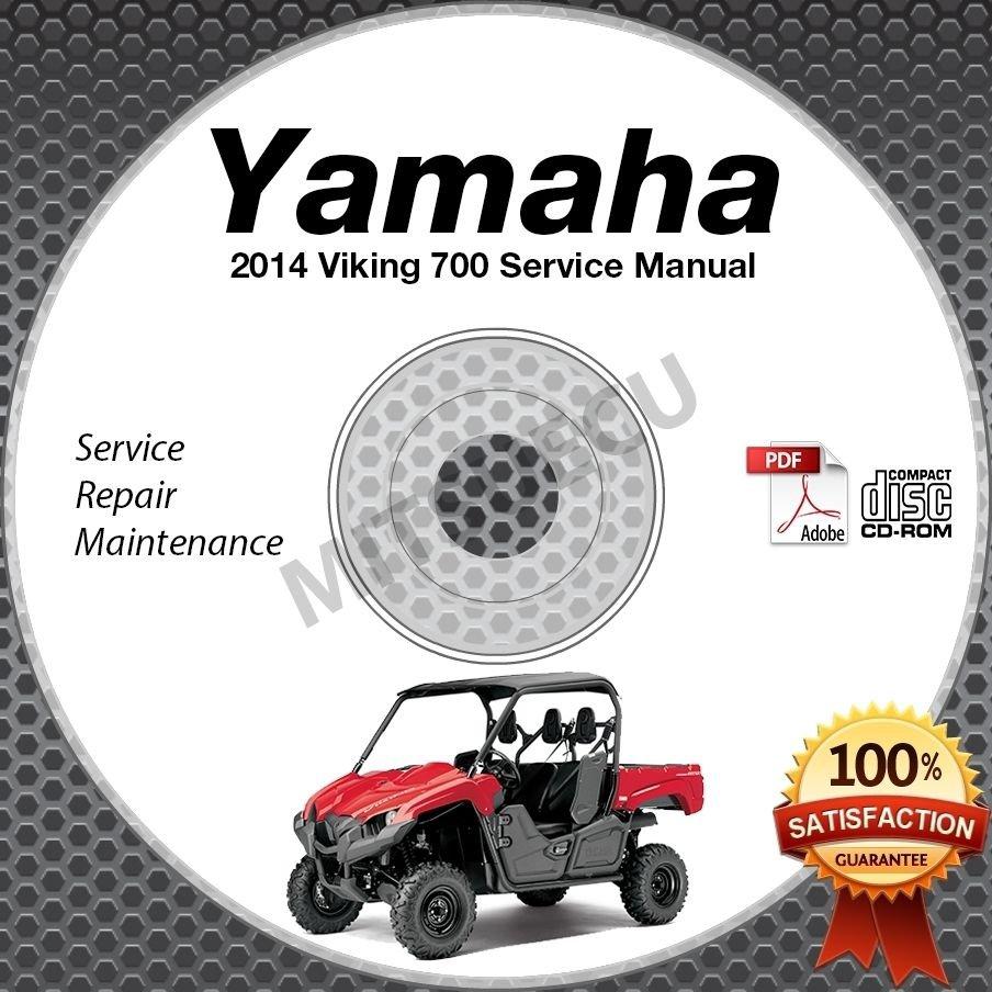 2014 Yamaha VIKING 700 Service Manual CD ROM repair shop UTV side by side