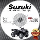 2002-2007 Suzuki LT-A400 & LT-F400 Service Manual CD Eiger 2003 2004 2005 2006