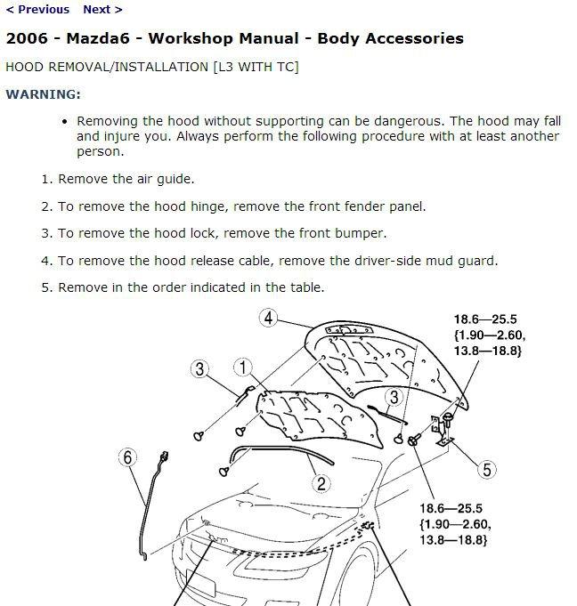 2006 Mazda6 & Mazdaspeed6 Service Manual CD ROM workshop repair 2.3L 3.0L NEW!