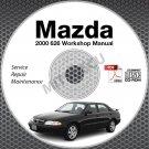 2000 Mazda 626 Service Manual CD ROM 2.0L 2.5L workshop repair