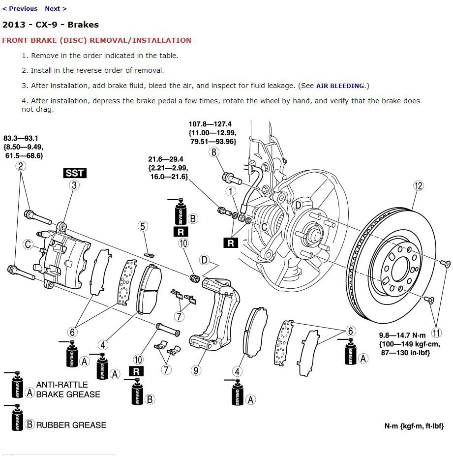 Mazda 3 Service Manual: Clutch Pedal Position Switch RemovalInstallation C66 M R