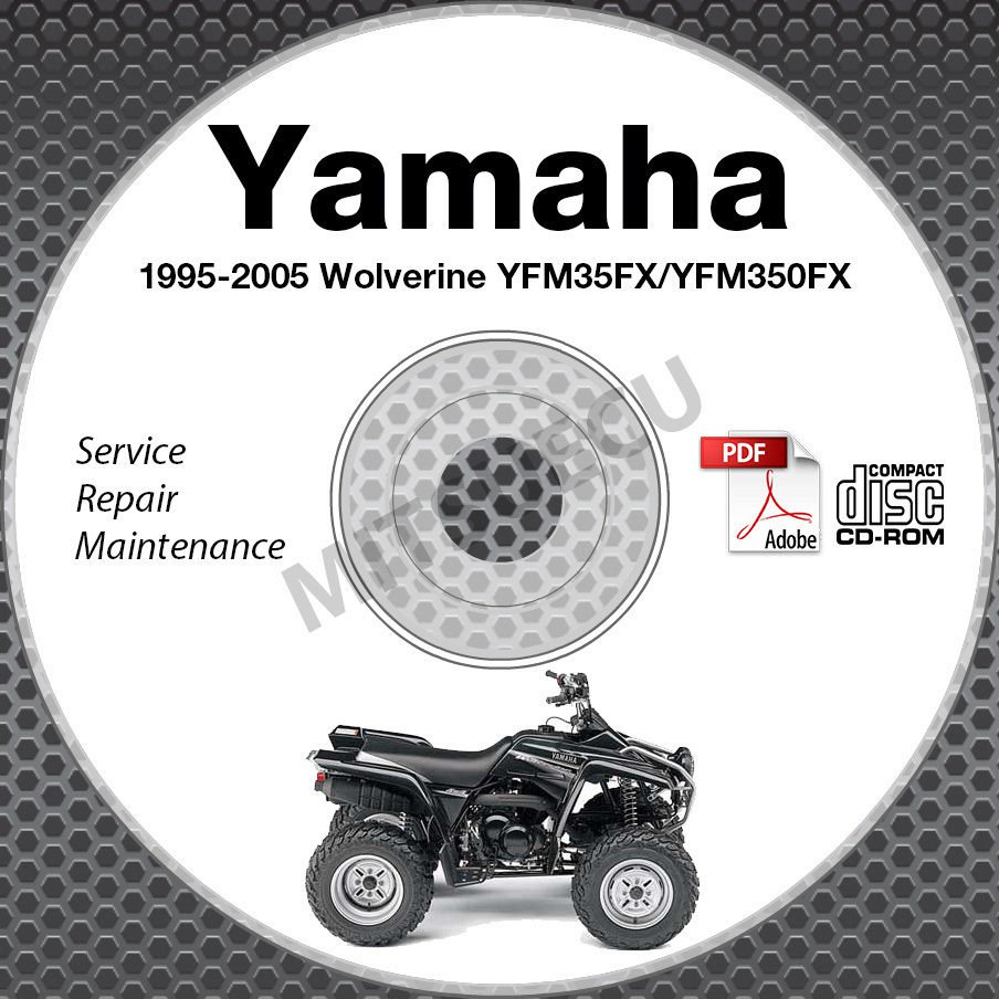 1995-2005 Yamaha WOLVERINE YFM35FX 4x4 ATV Service Manual CD repair on kodiak wiring diagram, king quad wiring diagram, yamaha grizzly 660 wiring-diagram, yamaha wolverine 350, yamaha rhino wiring schematic, yamaha wolverine ignition explained, yamaha wolverine wheels, polaris sportsman wiring diagram, yamaha wolverine parts list, yamaha r1 wiring-diagram, arctic cat wiring diagram, yamaha banshee wiring-diagram, kawasaki bayou wiring diagram, yamaha raptor 660 wiring-diagram, yamaha virago wiring-diagram, ford mustang wiring diagram, yamaha wolverine accessories, polaris xpedition 425 wiring diagram, yamaha wolverine oil filter, can am outlander wiring diagram,