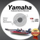 ALL 2001 Yamaha Outboards Service Manual CD ROM repair shop boat motor outboard