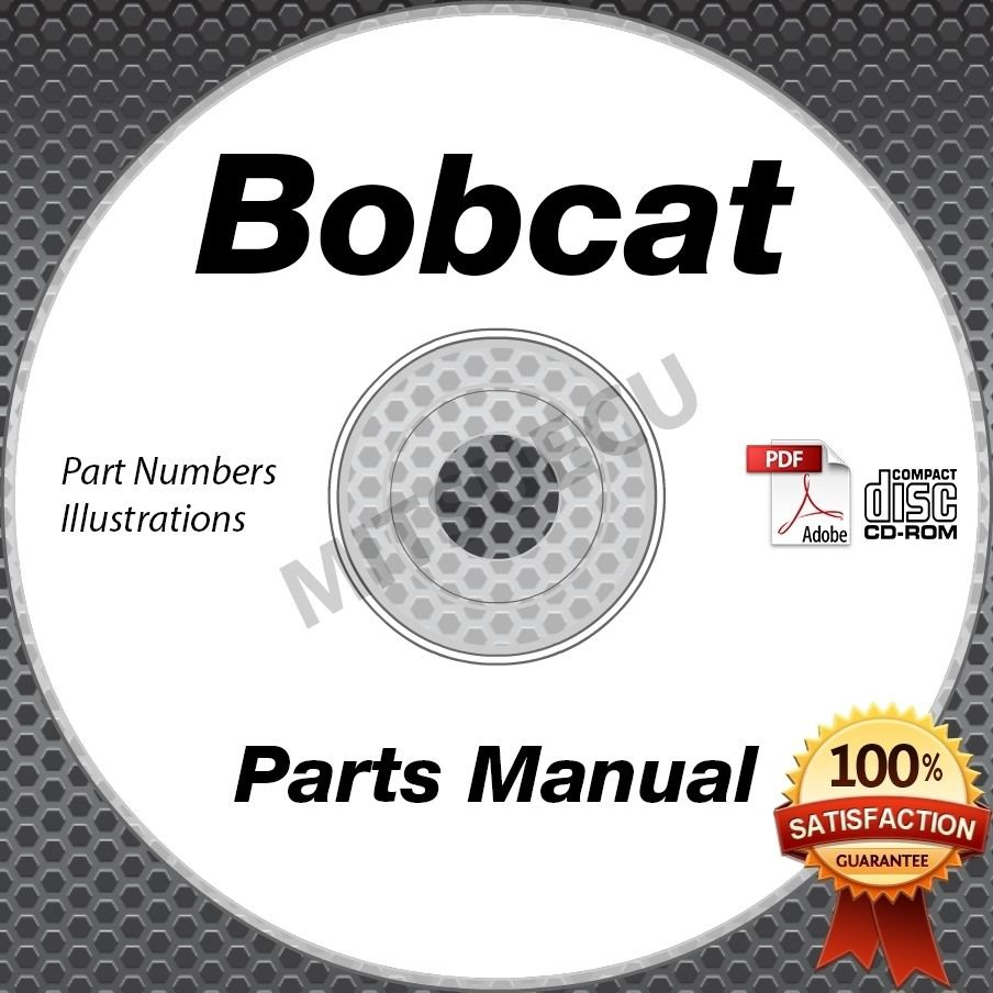 Bobcat T300 Compact Loader PARTS MANUAL CD repair shop (Serial #s Listed)