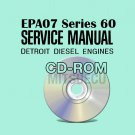 Detroit Diesel EPA07 Series 60 Service Manual CD (DDC-SVC-MAN-0005) shop repair