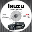 1998-2002 Isuzu Trooper Service Repair Manual CD 1999 2000 2001 shop