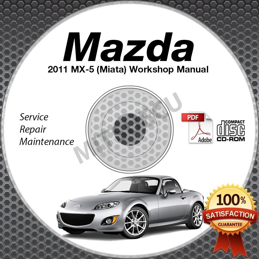 2011 Mazda Miata MX-5 Service Manual CD Workshop Repair 2.0L NC *NEW* High  Def