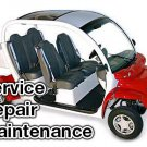 1999-2001 GEM Electric Car Service Manual CD ROM Repair 2000