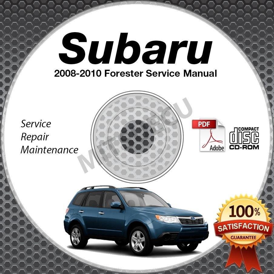 2008-2010 SUBARU FORESTER Service Manual CD ROM 2.5L 2009 2010 repair  workshop
