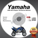 2009-2012 Yamaha RAPTOR 700 R YFM7R Service Manual CD ROM repair shop 2010 2011