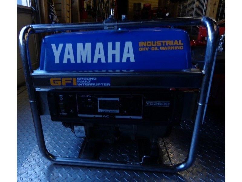 Yamaha EF1600A EF2400A Generator Service Manual CD repair LIT196160069