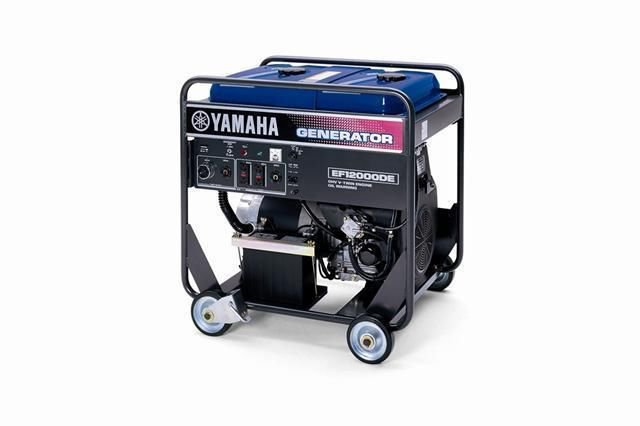 Yamaha EF12000 EF13000 +DE + DEX Generator Service Manual CD repair LIT196160101