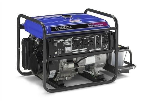 Yamaha EF4000DVE/EF5000DVE/EC4000DV/EC5000DV Generator Service Manual CD repair