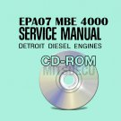 Detroit Diesel EPA07 MBE 4000 Service Manual CD (6SE420) workshop repair