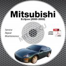 2000-2002 Mitsubishi Eclipse Service Repair Manual CD ROM workshop 3G