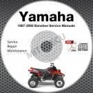 1987-2006 Yamaha BANSHEE YFZ350 Service Manual CD repair shop 05 04 03 02 01 00