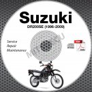 1996-2009 Suzuki DR200SE Service Manual CD ROM Repair 97 98 99 00 01 02 03 04 05