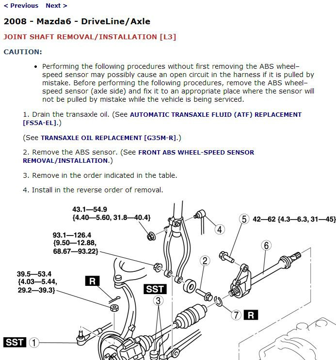 2008 Mazda6 Service Manual CD ROM workshop repair 2.3L 3.0L NEW!