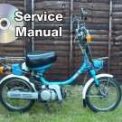 1984-1987 Yamaha YAMAHOPPER QT50 High Def. Service Manual CD repair shop 85 86