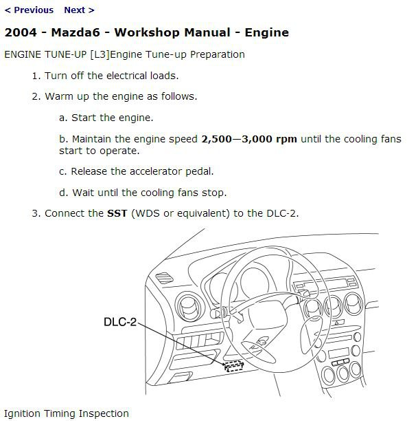 2004 Mazda6 Service Manual CD ROM workshop repair 2.3L 3.0L NEW!