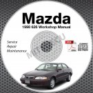 1998 Mazda 626 Service Manual CD ROM 2.0L 2.5L workshop repair